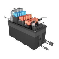 PONDTECH Bio filter 160 комплект фильтрации с у.ф. для пруда до 250.000 литров