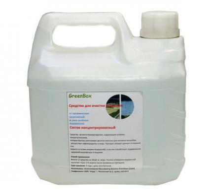 GreenBox 3L против сине-зеленых водорослей на 30000 литров