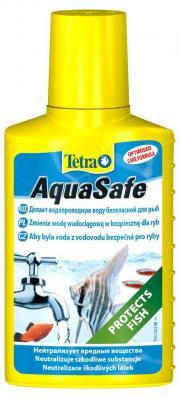 TETRA AquaSafe 50мл, кондиционер для подготовки воды на объем 100л
