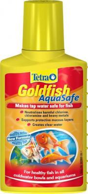TETRA AquaSafe Goldfish 250мл, кондиционер для золотых рыб на объем 500л