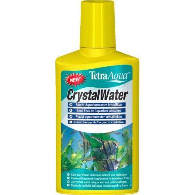 TETRA CrystalWater 250мл, кондиционер для очистки воды на объем 500л