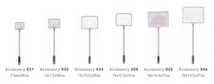 Cачок Barbus Accessory 021 с удлиненной ручкой 7,5*6*30см