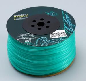 Шланг силиконовый Barbus ⌀4 мм цена за 1 м, зеленый