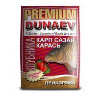 "Прикормка ""DUNAEV-PREMIUM"" 1кг Карп-Сазан Клубника"