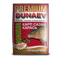 "Прикормка ""DUNAEV-PREMIUM"" 1кг Карп-Сазан Конопля Красная"