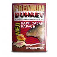 Красная прикормка Дунаев премиум Карп Сазан Мед