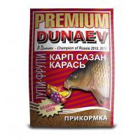 """Прикормка """"DUNAEV-PREMIUM"""" 1кг Карп-Сазан Тутти-Фрутти"""
