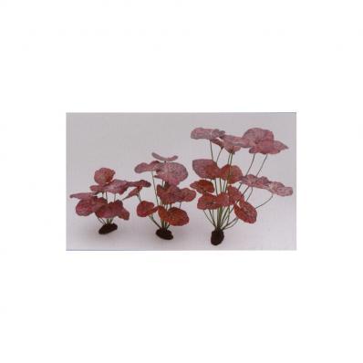 Растение шелковое Нимфея, краповое 20 см