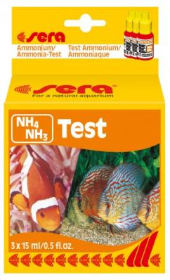 Тест для воды Sera NH4 Аммоний