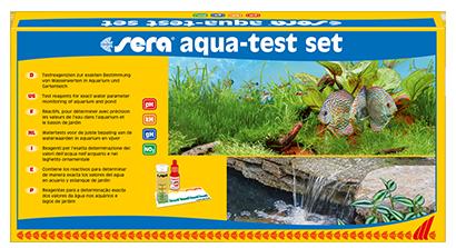 Набор тестов для воды Sera AQUA-TEST-SET