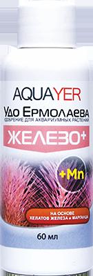 """AQUAYER, """"Удо Ермолаева ЖЕЛЕЗО+"""", 60 ml"""