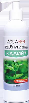 "AQUAYER, ""Удо Ермолаева КАЛИЙ+"", 250 ml"