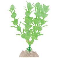 Растение флуоресцирующее GloFish зеленое М 15 см