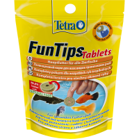 TetraFunTips Tablets для приклеивания к стеклу 20 таб купить в Амигофиш