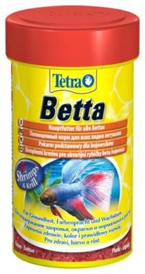 Корм для петушков TetraBetta 100мл