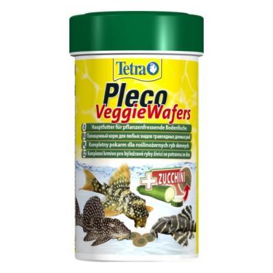 TetraPleco Veggie Wafers 100 мл - корм для сомиков-присосок