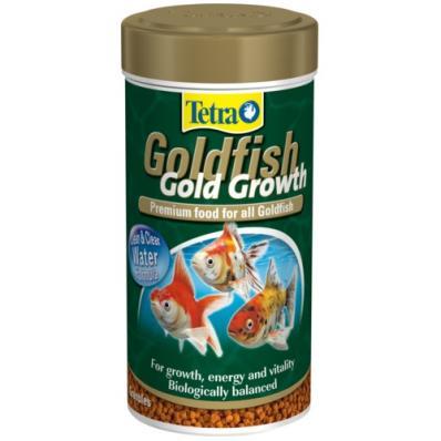 Tetra Goldfish Gold Growth 250 мл - корм шарики, премиум-класса с дополнительными высококачественными протеинами для лучшего роста.
