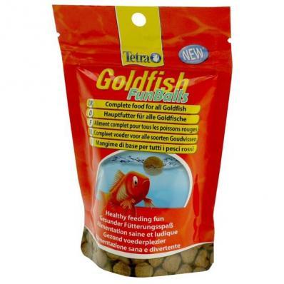 Tetra Goldfish FunBalls 20г плавающие шарики
