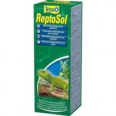 Tetra ReptoSol 50мл витамины для рептилий