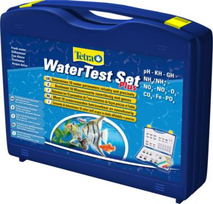 Tetra WaterTest Set Plus pH/KH/GH/NH3/NH4/NO2/NO3/O2/CO2/Fe/PO4