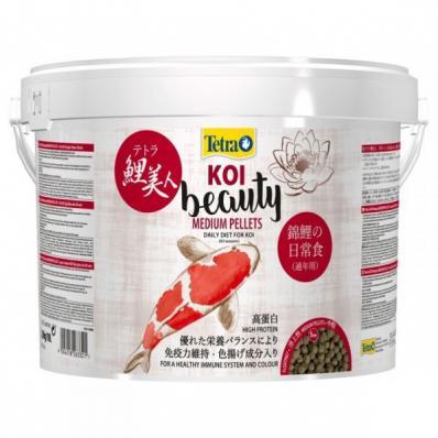 Корм для прудовых рыб Tetra Koi Beauty Medium 10л