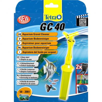 Tetratec GC40 - грунтоочиститель средний от 50-200л