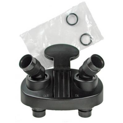 Адаптер с кранами и уплотнительными кольцами для TetraTec EX 400/600/700 (New-2 level)