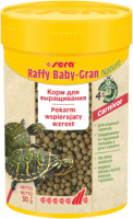 Корм Sera для рептилий RAFFY BABY GRAN 100 мл 32 г
