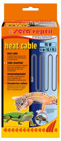 Нагревательный кабель Sera для рептилий 15 w, 4м