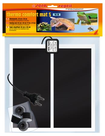 Нагревательный коврик Sera для рептилий 14 w, 28х28 см