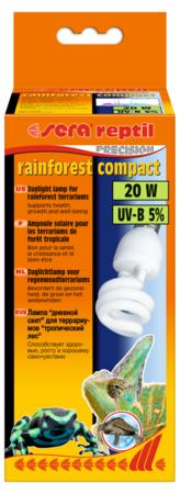 Лампа Sera reptil rainforest compact UV-B 5% 20w