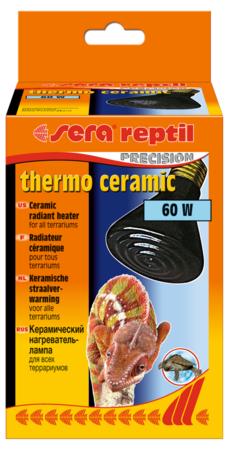 Sera Теплоизлучатель керамический reptil thermo ceramic 60w /цоколь Е27/