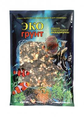 Грунт для аквариума ЭКОгрунт Галька Феодосия 5-10 мм