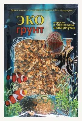 Грунт для аквариума ЭКОгрунт Галька Каспий 5-10 мм