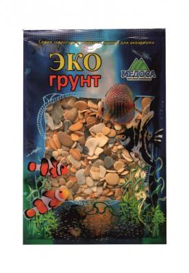 Грунт для аквариума ЭКОгрунт Галька Каспий 8-15 мм