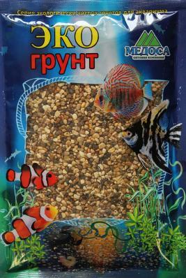 Грунт для аквариума ЭКОгрунт Галька Реликтовая 2-5 мм