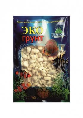 Грунт для аквариума ЭКОгрунт Мраморная крошка белая 5-10 мм