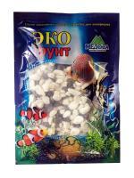 Грунт для аквариума ЭКОгрунт Мраморная крошка 5-10 мм чёрно/белая