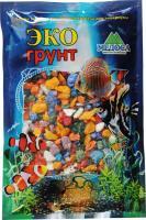 Грунт для аквариума ЭКОгрунт Мраморная крошка Микс 5-10мм