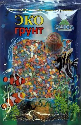 Грунт для аквариума ЭКОгрунт Мраморная крошка Микс 2-5 мм