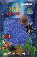 Грунт для аквариума ЭКОгрунт Мраморная крошка Синяя 2-5 мм