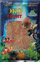 Грунт для аквариума ЭКОгрунт Цветной песок 0,5-1 мм Микс