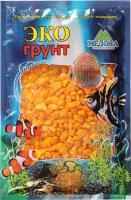 Грунт для аквариума ЭКОгрунт Мраморная крошка 5-10 мм Желтая