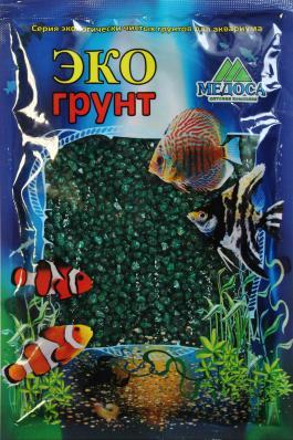 Грунт для аквариума ЭКОгрунт Мраморная крошка 2-5 мм Изумрудная