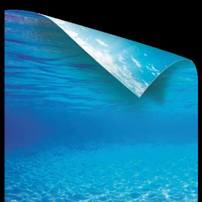 Фон-пленка Juwel Poster2 голубая вода XL 150х60см