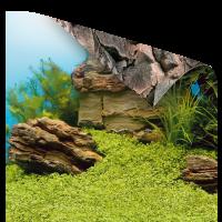 Фон-пленка Juwel Poster1 камни/растительный XL 150х60см