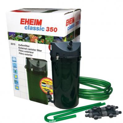 Внешний фильтр EHEIM classic 350 с губками
