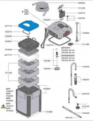 Внешний термофильтй EHEIM Professionel 4+ 350T