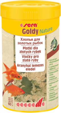 Корм для золотых рыбок SERA Goldy Nature 250мл (60г)