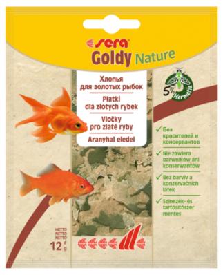 Корм для золотых рыбок SERA Goldy Nature 12г